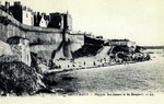 Saint-Malo - Plage de Bon-Secours et les Remparts