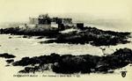 Saint-Malo - Fort Nationale à Marée basse