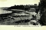 Cancale - Vue générale du Bourg et de la Grève du Hoc