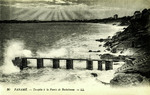 Paramé - Tempête à la Pointe de Rochebonne