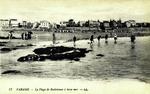 Paramé - La plage de Rochebonne à basse mer