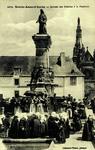 Auray - Sainte-Anne-d'Auray - Arrivée des Pèlerines à la Fontiane