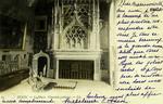 Dijon - Le Musée. Cheminée gothique