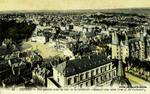 Nevers - Vue générale prise du haut de la Cathédrale