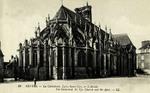 Nevers -La Cathédrale, Église Saint-Cyr. - L'Abside