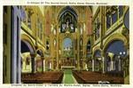 Canada – Quebéc Province – Montréal – Chapel of the Sacred Heart Notre-Dame Church