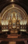 Montreal – Main Altar, Notre Dame Church