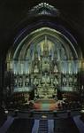 Canada – Quebéc Province – Montréal – Interior View of the Notre-Dame Church