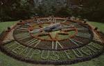 Canada – Quebéc Province – Montréal – Beautiful Floral Clock Westmount Park