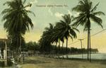 Panama – Causeway edging Panama Bay