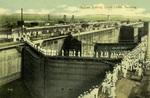 Panama – Sailors Visiting Gatun Locks, Panama
