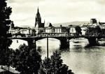 Frankfurt am Main – Stadtblick mit Dom und Obermain-Brücke