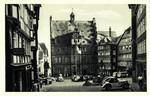 Marburg – Rathaus mit Marktplatz
