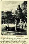Altenburg – Parthie im Schlosshof