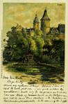 Altenburg – Kriegerdenkmal u. alter Schlossheit