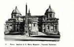 Italy – Rome – Basilica di Santa Maria Maggiore – Facciata Posteriore