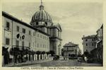 Italy – Castel Gandolfo – Piazza del Plebiscito e Chiesa Pontificia