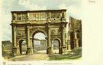 Italy – Rome – Arco di Costantino con il Colosseo