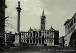Italy – Rome – Basilica di Santa Maria Maggiore – La Facciata