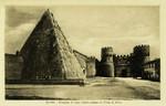 Rome – Piramide di Caio Cestio presso la Porta S. Paolo