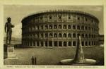 Rome – Anfiteatro del Flavi detto il Colosseo restaurato conforme trovavasi al tempo dell' Imperatore Adriano