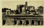 Rome – Tempio di Venere e Roma, coll' Arco di Tito
