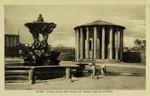 Rome – Piazza Bocca della Verità col Tempio supposto di Vesta