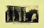 Rome – Arco di Costantino e la meta sudante