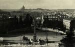 Rome – Piazza del Popolo da Monte Pincio