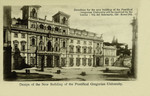 Rome – Design of the New Building of the Pontifical Gregorian University