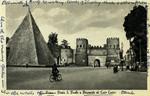 Rome – Porta S. Paolo e Piramide di Caio Cestio