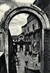 Italy – Rome – Castel Sant'Angelo – Cortile delle Armi