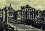 Rome – Foro Romano – Avanzi del Tempio di Saturno