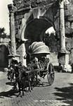 Italy – Rome – Arco di Druso – Carro a Vino