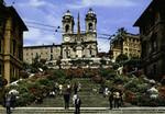 Rome – Spain Square and Church of Trinità dei Monti