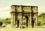 Rome –  Constantine's Arc