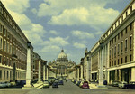 Rome – Reconsiliation Street and St. Peter