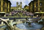 Rome – Spain's Square and the Trinità dei Monti