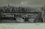 Italy – Florence – Veduta dei Lungarni coi Ponti