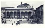 Italy – Florence – Piazza e Chiesa della Santissima Annunziata