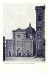 Florence – Facciata e Campanile della Cattedrale