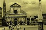 Italy – Florence – Piazza e Chiesa di Santa Maria Novella
