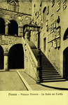 Italy – Florence – Palazzo Pretorio – La Scala nel Cortille