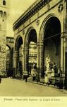 Italy – Florence – Piazza della Signoria – La Loggia dei Lanzi