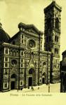 Italy – Florence – La Facciata della Cattedrale