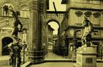 Florence – Interno della Loggia de'Lanzi