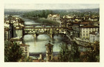 Italy – Florence – LungArno coi tre Ponti