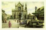 Florence – Piazza e Chiesa di S. Croce