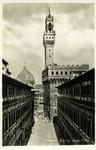 Italy – Florence – Portici degli Uffizi
