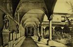 Italy – Florence – Museo di Santa Maria – Veduta del Chiostro